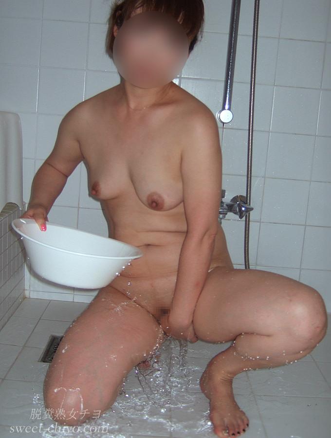 熟女お風呂パイパン